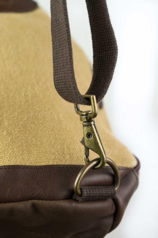 sac à dos bandoulière détail