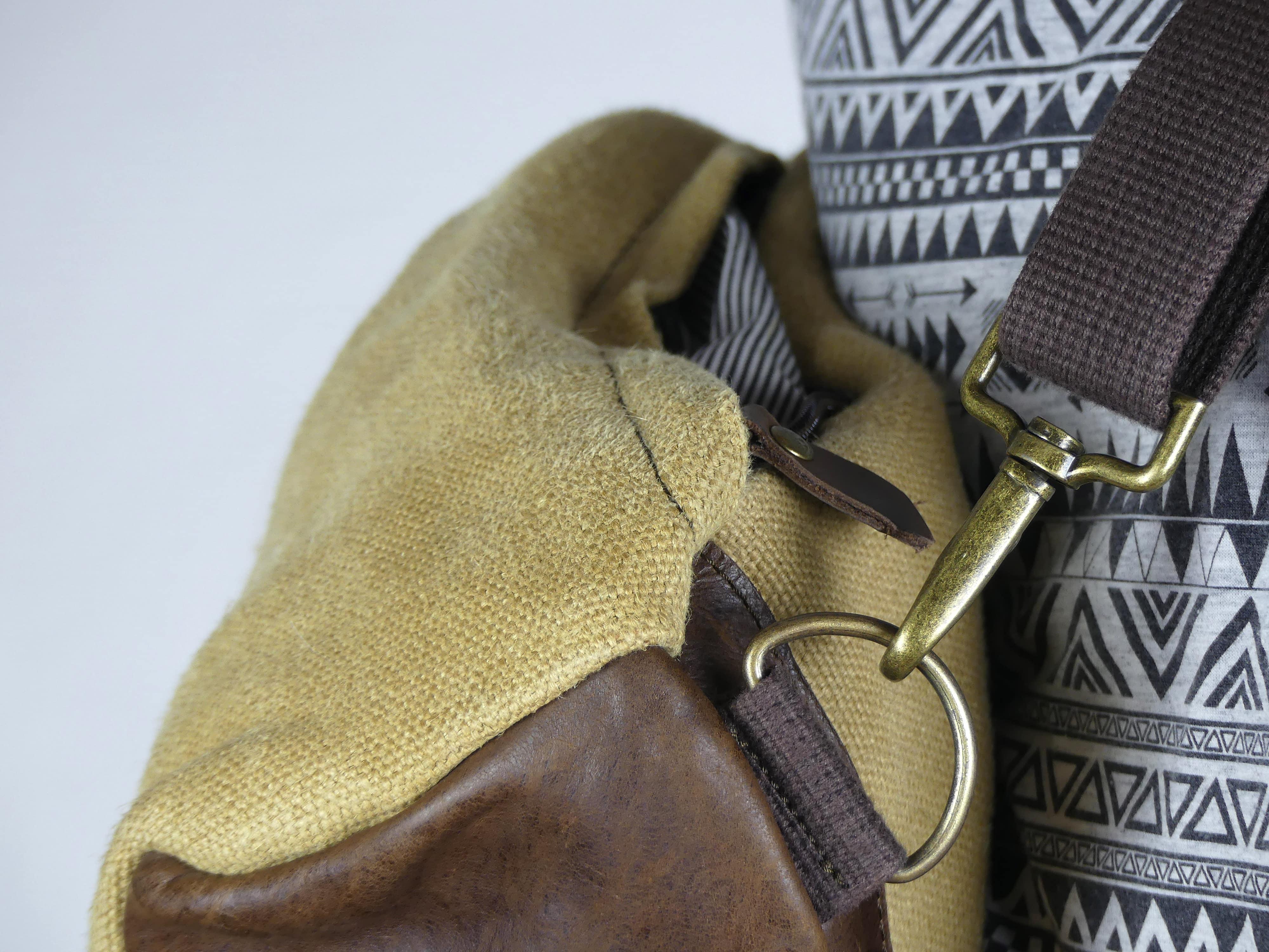 Petit sac à dos bandoulière, balish - le baluchon - Bhallot num 5