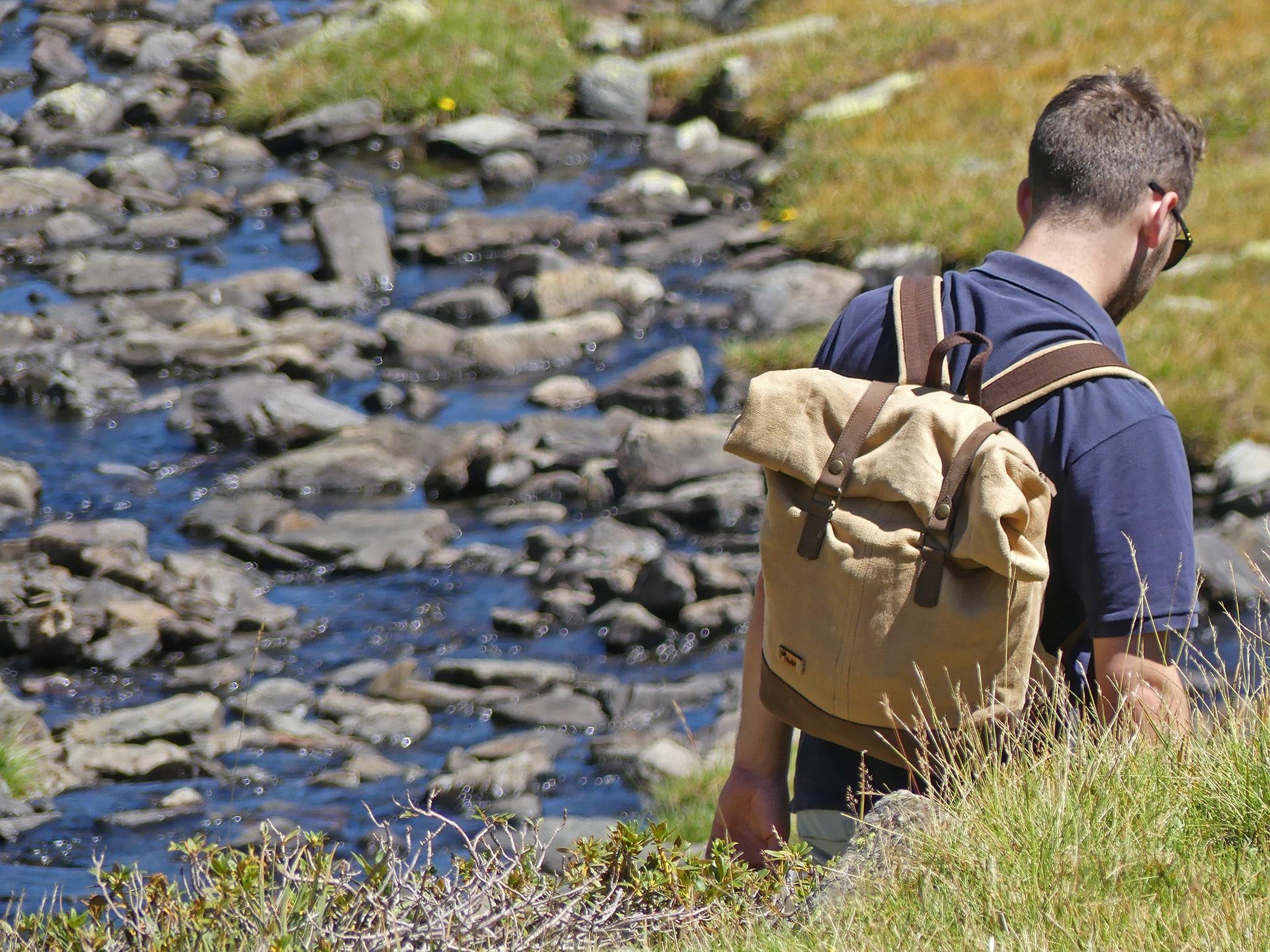 Le sac à dos bosta roll top