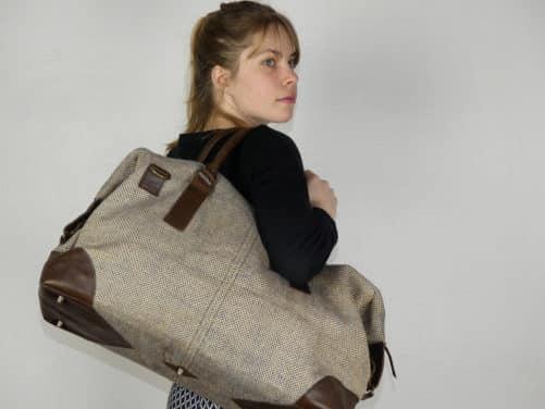 Jhola - le sac weekend 48h porté à l'épaule