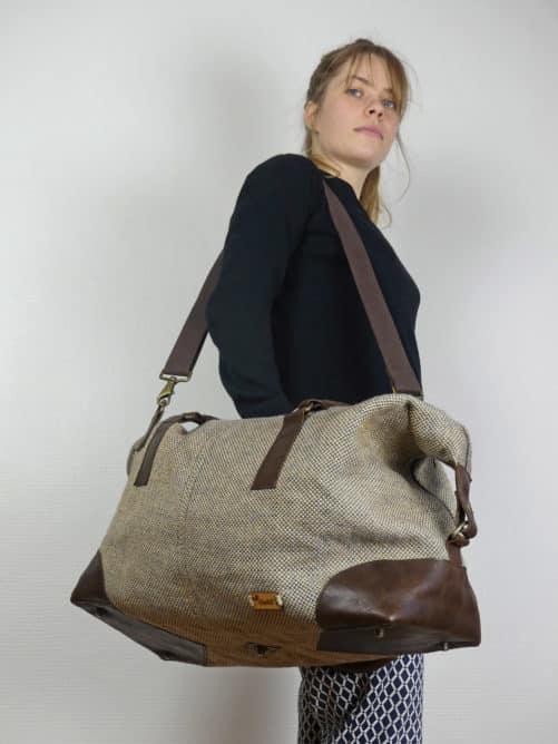 Jhola - le sac weekend 48h porté en bandoulière