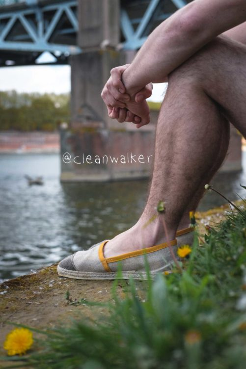 Espadrille jaune - benjamin carboni de Cleanwaler_carbo7 2
