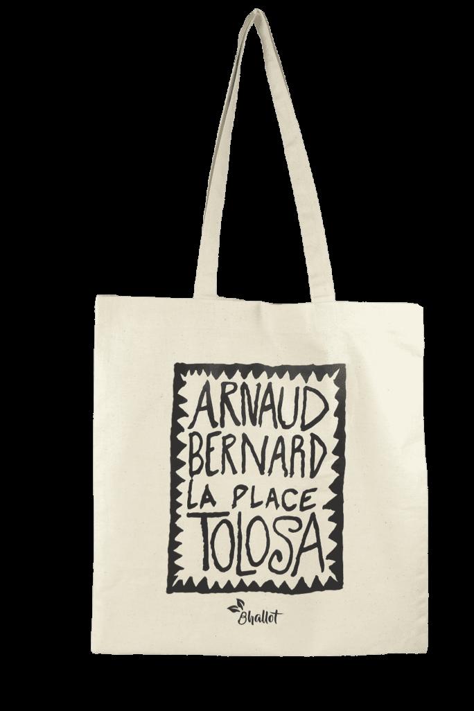 Tote bag en coton Arnaud Bernard