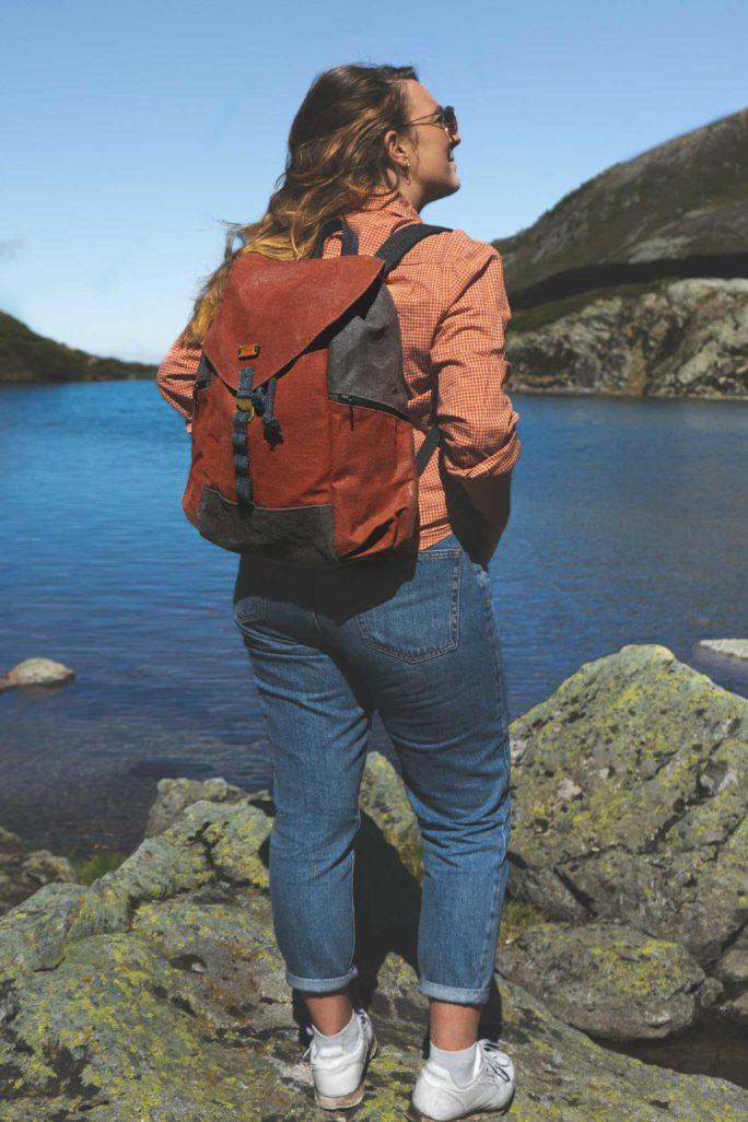 sac à dos écologique femme