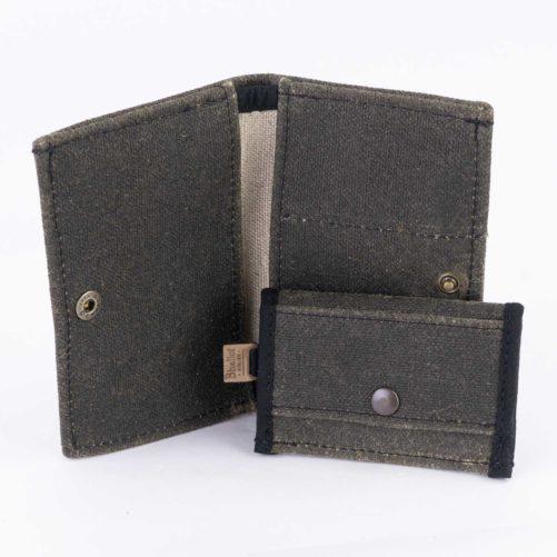 portefeuille en lin 2 en 1 en lin