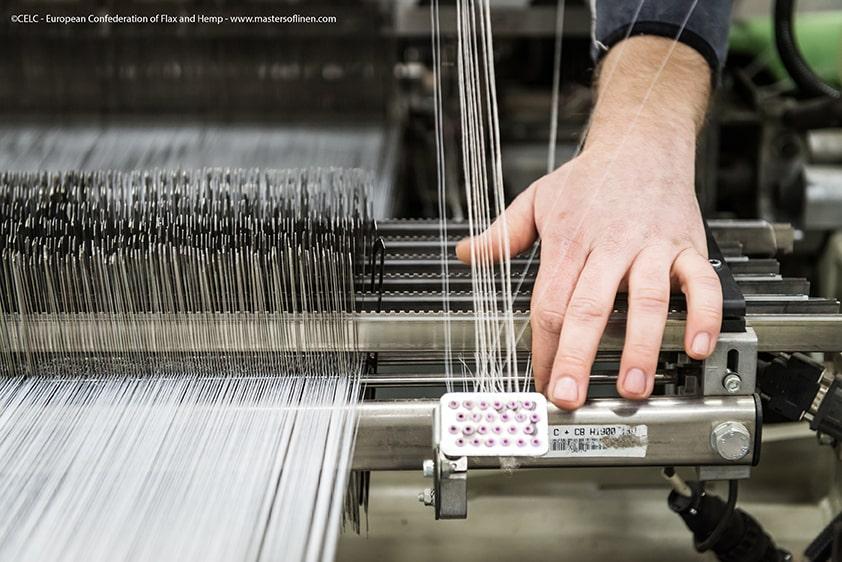 Comment le lin devient tissu ?